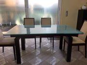Designer Esstisch ausziehbar 6 Stühle