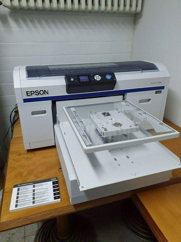 Epson Surecolor SC-F2000 DTG Textildrucker