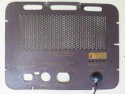 Rückwand Röhrenradio Eumig 430WH 47x29