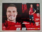 Autogrammkarte Philip Heise 1 FC