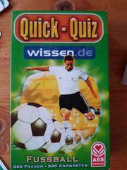 Fussball Quick-Quiz Spiel