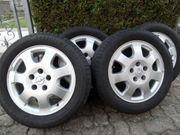 4 Opel Kompletträder Alu-Felgen mit