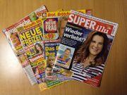 VERSANDKOSTENFREI 4 aktuelle Illustrierte SUPERillu