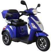 E-Roller mit drei Rädern Seniorenfahrzeug