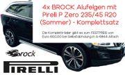 4x Brock Autofelgen mit Pirelli