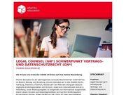 Legal Counsel Schwerpunkt Vertrags- und