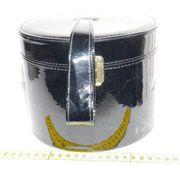 Perückenkoffer mit 2 Echthaar Haarteilen