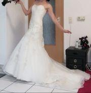 Brautkleid Meerjungfrau Gr M
