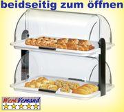 Brötchenvitrine Kuchenvitrine Gastronomie Buffetvitrine liefert