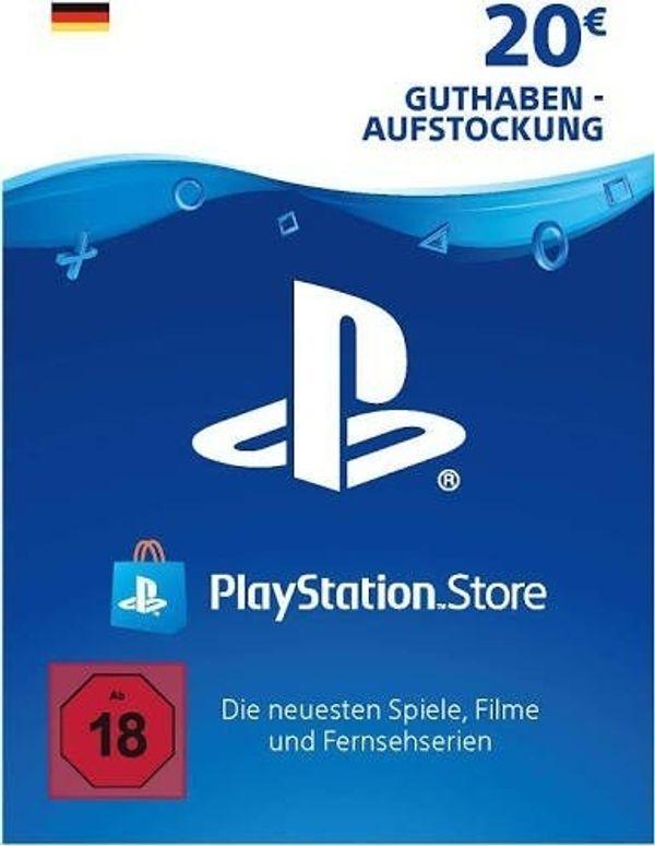 20 PlayStation Network Guthaben