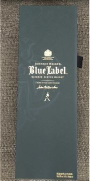 Leere Johnnie Walker Blue Label