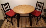 IKEA Tisch Stühle Teppich Wohnungsauflösung