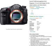 Sony SLT-A99 Kameragehäuse 24 3