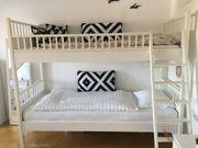 Stockbett weiß hochwertige dänische Designermarke