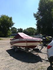 Motorboot inkl Außenbordmotor und Trailer