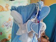 babybetthimmel blau