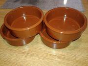 6 Keramik Schüssel Schale Untersetzer