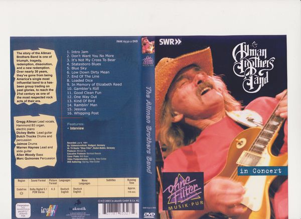 Musik - DVD Allman Brothers Band -