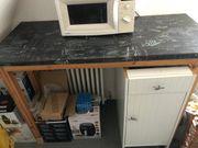 Arbeitsplatte Küche mit Gestell