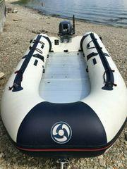 Schlauchboot Yamaha 360S mit 15PS
