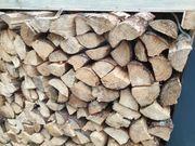 Brennholz Kaminholz Fichte