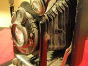 Compur Plattenkamera ca 1920 Faltenbalg