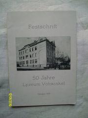 50 Jahre Lyzeum Vohwinkel - Festzeitschrift