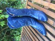 Western Stiefel Vintage in blau