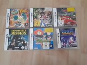 Nintedo DS 6xSpiele