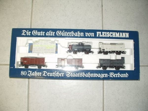 Märklin-Fleischmann HO digital Preussen Güterzug