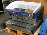 Siebträger-Espressomaschine MACCHIAVALLEY AMARO 2-gruppig inkl