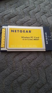 NETGEAR MA521GR Wireless PC Card