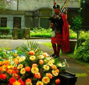 Booking Funeral Music - Bagpiper for you