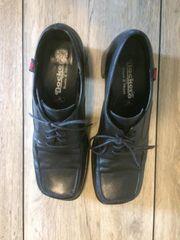 schwarze Dockers Schuhe Größe 40