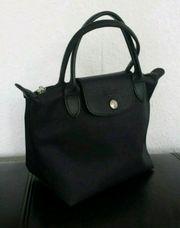 LONGCHAMP XS Tasche Handtasche schwarz