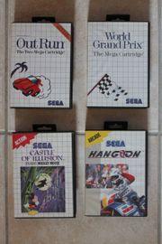 Sega Master System 8 Spiele