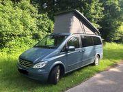Wohnmobil mit Aufstelldach - Mercedes Benz