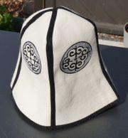 Traditioneller kirgisischer Hut aus Kirgisistan