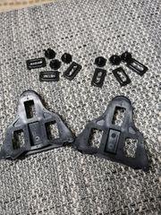 Schuhplatten für Rennrad Klickpedale - wie