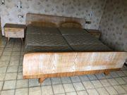 Bett massiv zu verschenken