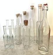 Schnaps-Likörflaschen zum Einmachen Einkochen