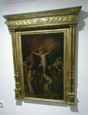 Kreuzigung Christi Altmeister Gemälde