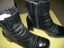 Schuhe, Stiefel - schwarze medicus Stiefeletten Gr 41