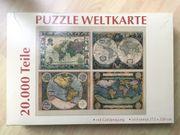 Puzzel Puzzle Weltkarte 20 000