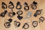 10 Netzteile 4 Headsets für
