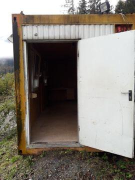 20 Bürocontainer Bauhütte 6m 6: Kleinanzeigen aus Nenzing - Rubrik Schrebergärten, Wochenendhäuser