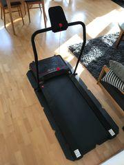 Sportstech Laufband mit Vibrationsplatte VPX600