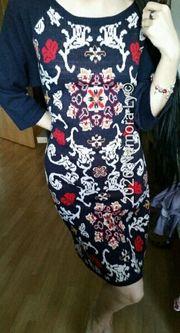 orientalisches kleid strickkleid damen gr