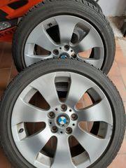 4Winterreifen mit BMW Felgen von