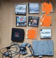 PS1 Controller und Spiele